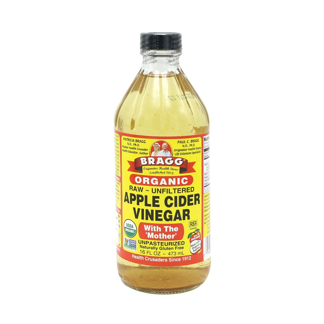 LuckyEats - Organic Raw Apple Cider Vinegar with Mother by