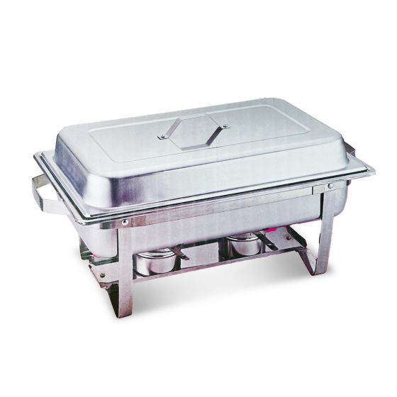 STEEL CHAFING DISH SINGLE 9LTR