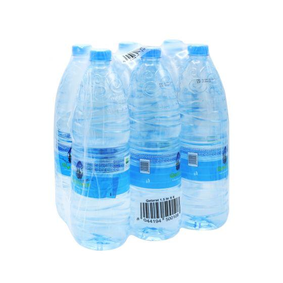 QATARAT WATER 6X1.5LTR