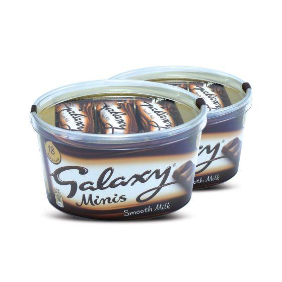 GALAXY MILK MINIS 2X252GM