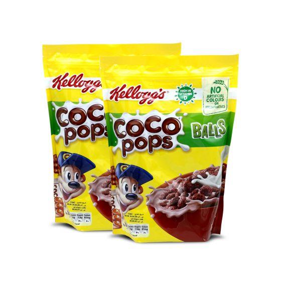 KELLOGGS COCO POPS BALLS 2X360GM