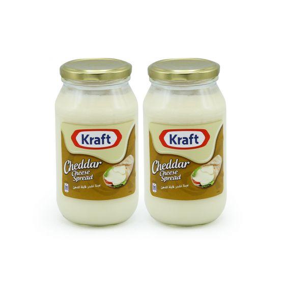 KRAFT CHEESE SPREAD 2X500GM