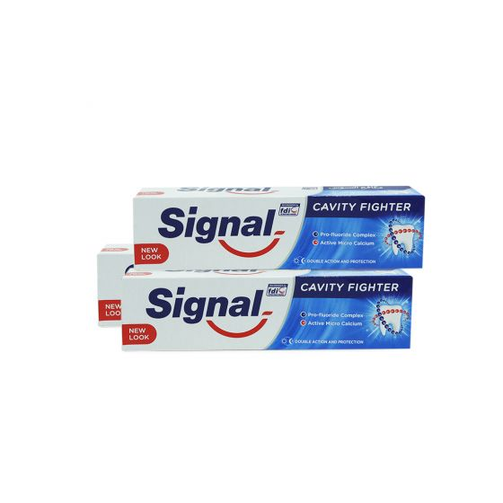 SIGNAL CAVITY FIGHTER TOOTH PASTE 3X100ML