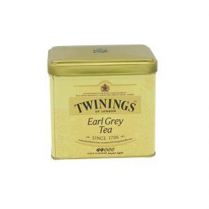TWININGS EARL GREY TEA TIN 200GM