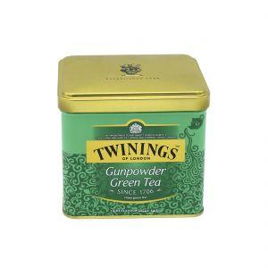 TWININGS GUNPOWDER GREEN TEA 200G TIN