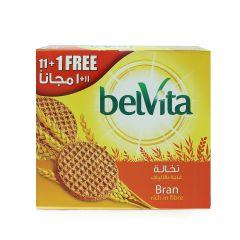 BELVITA BRAN BISCUITS 62GM 11+1FREE